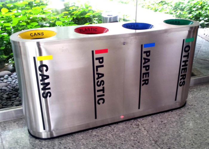 how to build recycle bins